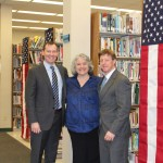 "Don Cazayoux and Lane Ewing Volunteer at ""Lawyers in Libraries"" Event"